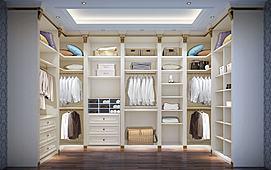 开放式衣柜模型