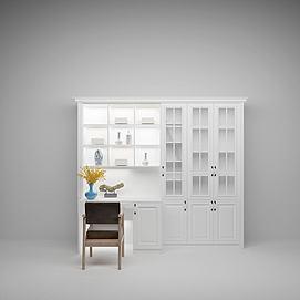 书柜衣柜模型