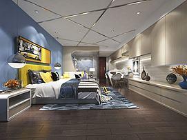卧室家居模型
