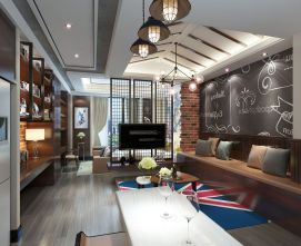 别墅公寓客厅模型