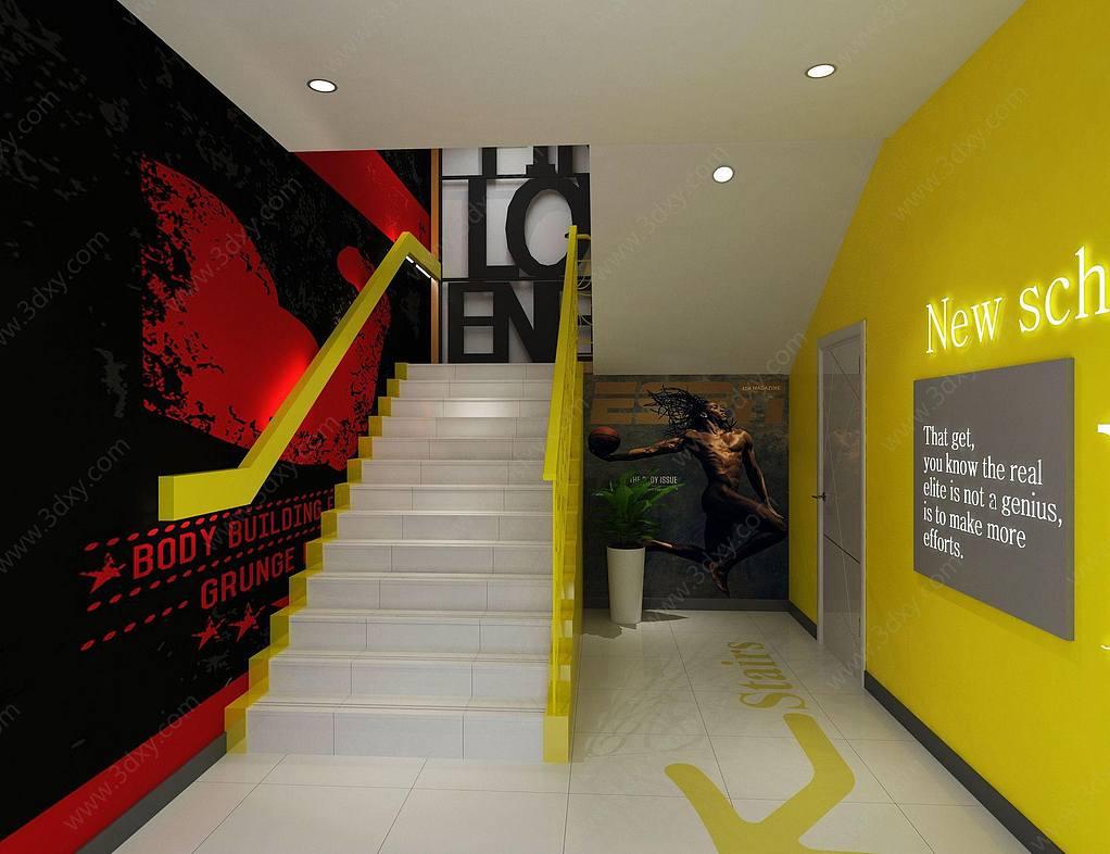 健身房楼梯间