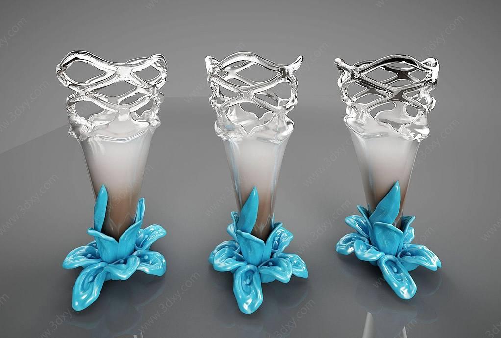 新中式摆件花瓶