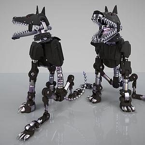 机械狼模型