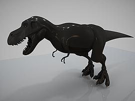 恐龙雕塑模型