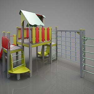 儿童游乐设备模型