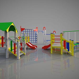 幼儿园游乐活动设备模型
