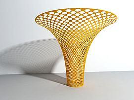 镂空柱模型