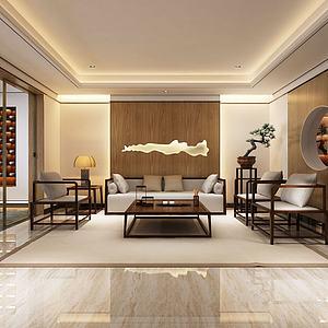 3d休閑茶室模型