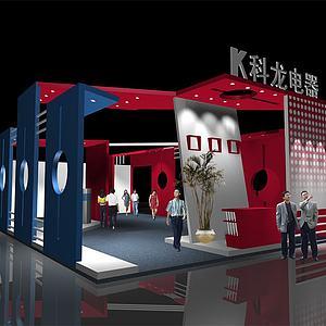 科龙电器展厅模型