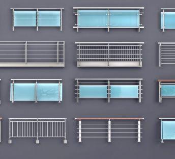 玻璃栏杆护栏扶手