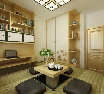 新中式榻榻米卧室