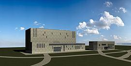 现代设计艺术博物馆模型