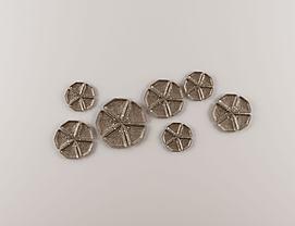 新中式花瓣墙饰挂件模型