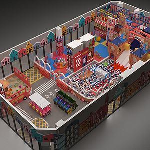 英伦风?#20113;?#22561;儿童主题乐园模型