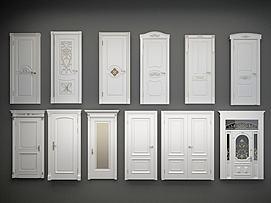 各类欧式门组合模型