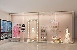芭蕾舞蹈室橱窗门头模型
