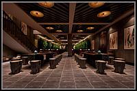 古式酒窖酒坛3d模型