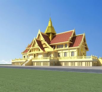 傣族建筑寺庙