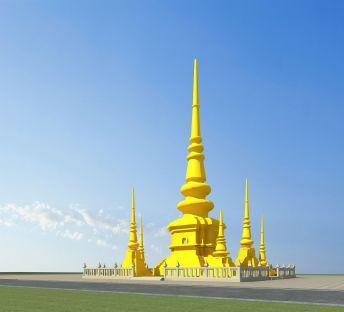 傣族建筑佛塔