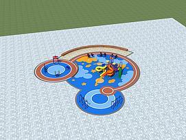 ?#21355;?#22330;景场所设施模型