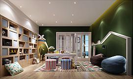 家庭娱乐影音茶室模型