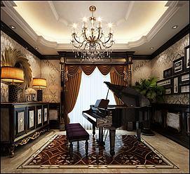 艺术室练琴房模型
