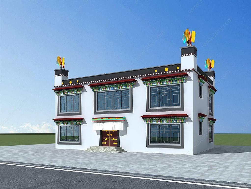 藏族民居建筑