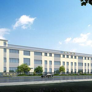 廠房工廠區模型3d模型