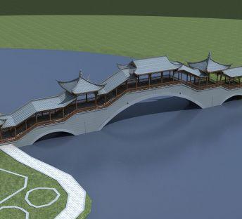 古建风雨桥