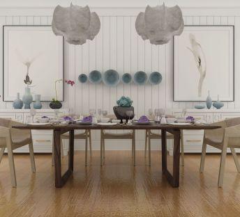 北欧餐桌椅组合