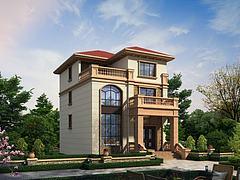 别墅房屋建筑模型3d模型
