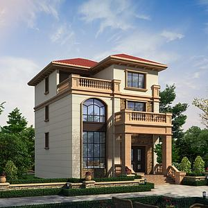 別墅房屋建筑模型3d模型