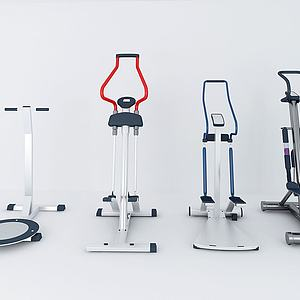 现代体育器材组合模型