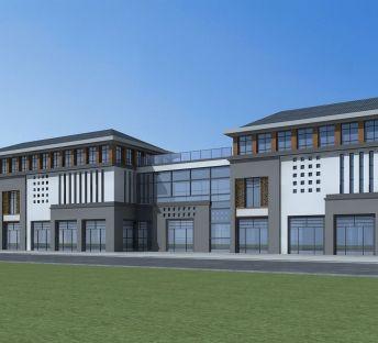 新中式商业建筑