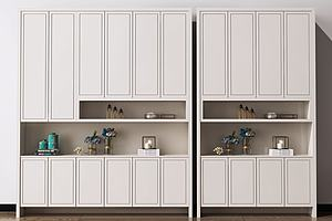 现代北欧鞋柜装饰柜
