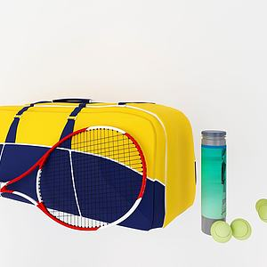 网球拍模型
