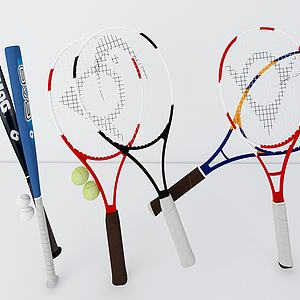 棒球网球拍模型
