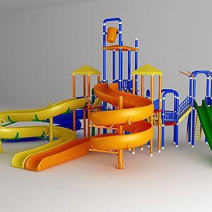 儿童游乐设施模型