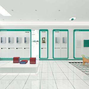 新能源前台展厅模型