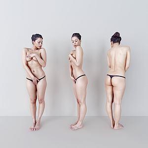 女人模特模型