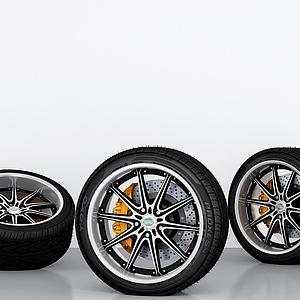 车轮胎模型