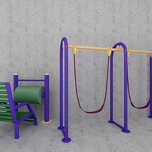 体育器材健身器材模型