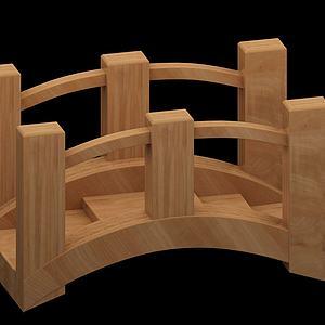 小木桥模型