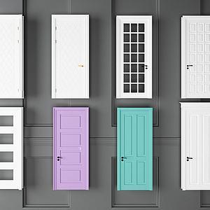 室内门组合模型