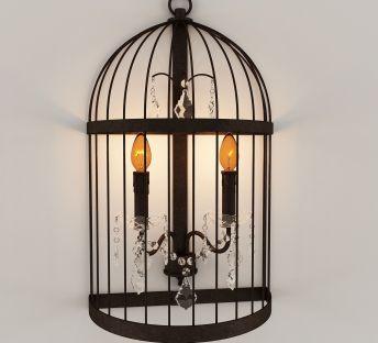 复古铁艺壁灯