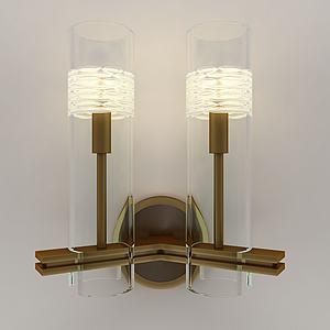 后现代简约壁灯模型