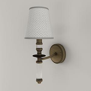 歐式風格壁燈3d模型