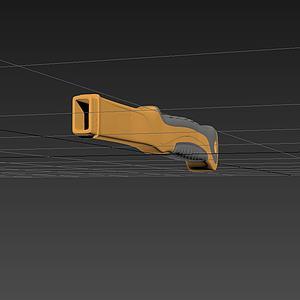 锤子手柄模型
