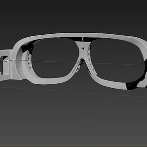 治疗眼镜模型