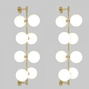 现代简约壁灯模型